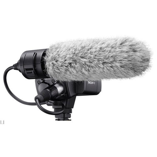 XLRK2M XLR Adapter Kit w/ Mic for A7 Series, RX10 Series, and A6300/6400/6500
