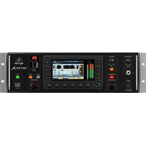 X32 RACK 40-Input, 25-Bus Digital Rack Mixer w/ 16 MIDAS Preamps