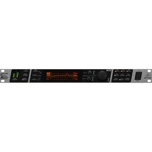 DEQ2496 Ultracurve PRO 24-Bit/96 kHz Digital EQ/RTA Mastering Processor