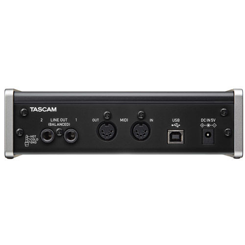 US-2X2 USB Audio/MIDI Interface 2-in/2-out