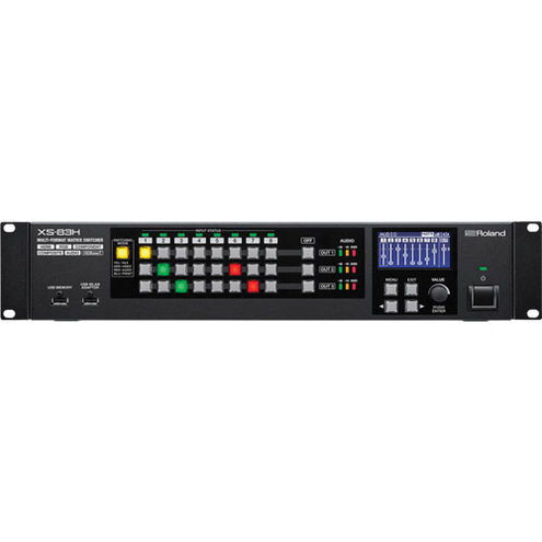 XS-83H Multi-Format Matrix Switcher with 8 in and 3 out