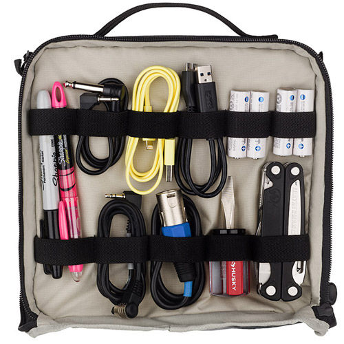 Tools Cable Duo 8 Cable Pouch Grey