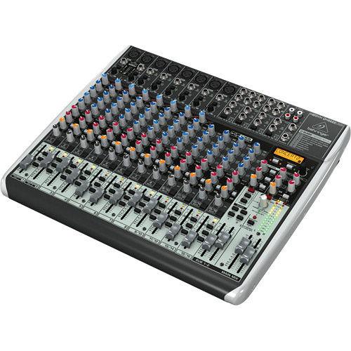 QX2222USB Xenyx 22 Input 2/2 Bus Mixer w/Multi-Fx Processor