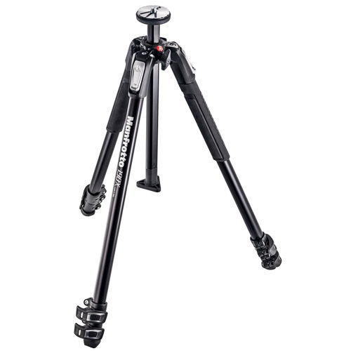 MK190X3-2W Tripod Kit With MT190X3 Aluminum Tripod, and MHXPRO-2W Fluid Video Head