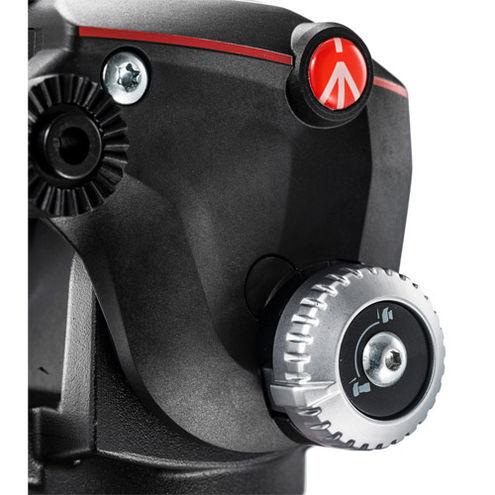MK190X3-2W Tripod Kit With MT190X3 Aluminum Tripod, and MHXPRO-2W Fluid Video Head