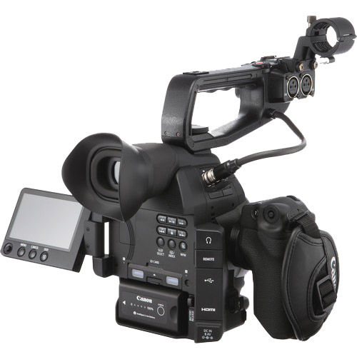 Canon EOS C100 Mark II with Dual Pixel CMOS AF (Body Only)