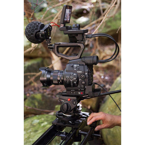 "Stereo VideoMic X Broadcast-grade stereo on-camera Microphone 2 x 1/2"" True Condenser Capsules"