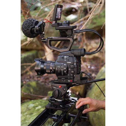 "Stereo VideoMic X Broadcast-grade stereo on-camera Microphone 2 x 1/2"" True Condenser Capsules"