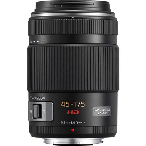 Lumix G X Vario PZ 45-175mm f/4.0-5.6 ASPH Lens - Black
