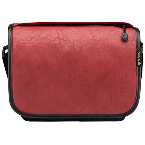 Switch Cover 7 Brick Red Faux Leather
