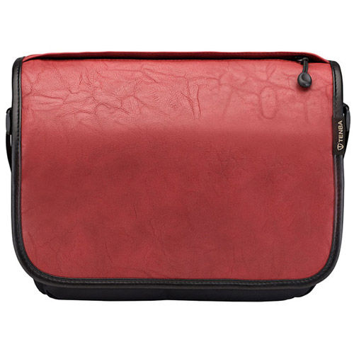 Switch Cover 8 Brick Red Faux Leather