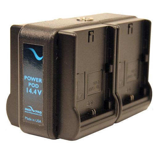 Power Pod Quad 14.4V System Using 4 Canon LP-E6 Batteries
