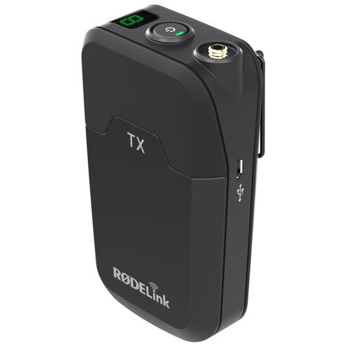 RodeLink Filmmaker Kit Wireless Microphone System - Beltpack Tx w/ Lav & Camera-Mount Rx