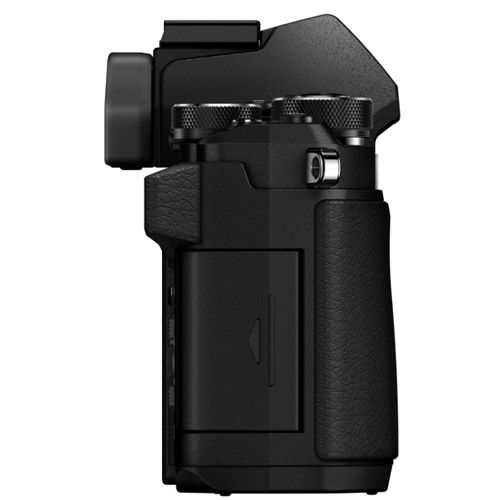 OM-D E-M5 Mark II Mirrorless Body Black w/ grip