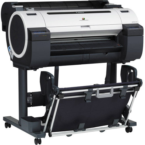 imagePROGRAF iPF670 with Stand Large Format Printer