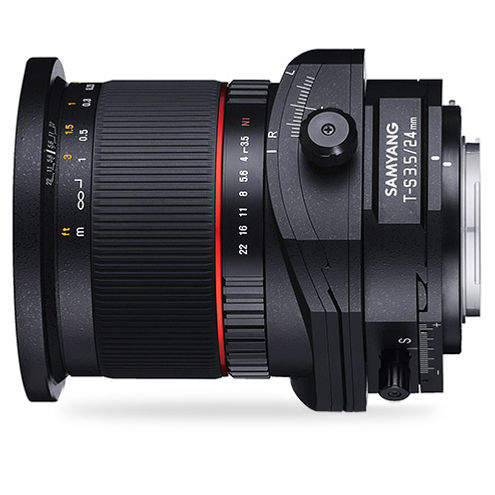 24mm f3.5 Tilt-Shift Lens Canon EF mount