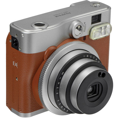 Instax Mini 90 Neo Classic Camera Brown