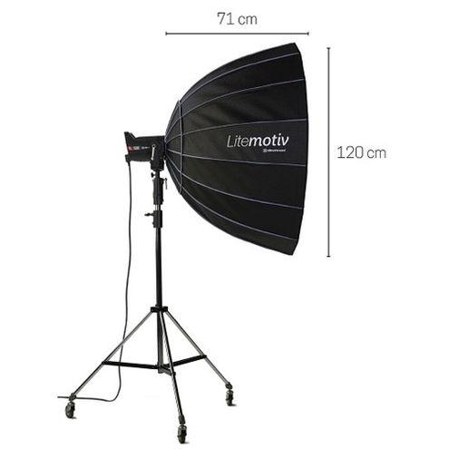 "Litemotiv Softbox Octa 120 cm (47"")  (Bracket Required)"