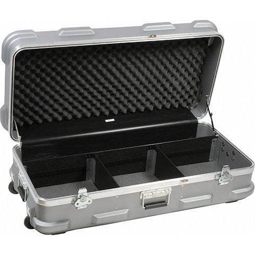 Arrilite 2000+/2 Heavy Duty Kit. Includes Barndoors, Scrims, Stands, and Heavy Duty Case