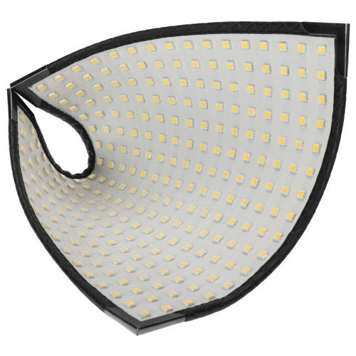 Flex 1-Light Daylight LED Kit With LED Panel, X-Bracket Mount, 1/4 Stop Front Difussion Panel