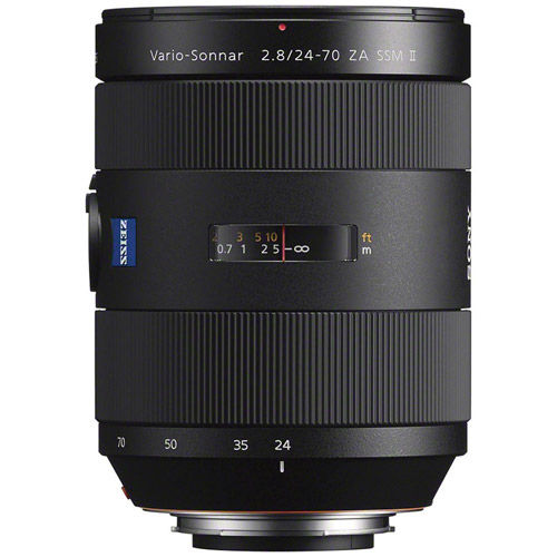 24-70mm f/2.8 Carl Zeiss ZA SSM II Vario-Sonnar T* A-Mount Lens (A99 & A77)