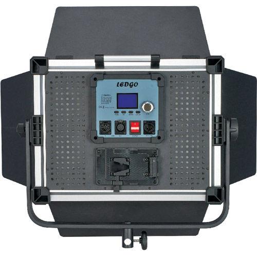 LG-900MSII LED Video Light 5600K V Plate WiFi DMX 45 Deg Diffuser, DC Adapter, Filter Set, Bag