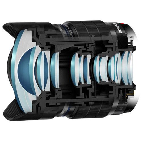 M.Zuiko ED 8mm f/1.8 Fisheye PRO Lens