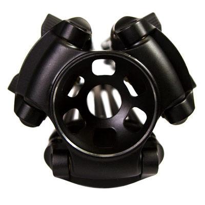 GC752 2 Stage Carbon Fiber Tripod 75mm Ball w/ Mid-Level Spreader (E-Image)
