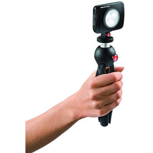 Lumie Play 3-Light LED with Shoe Mount and 2 Filters