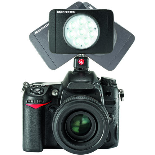 Lumie Muse 8-Light LED with Shoe Mount and 3 Filters