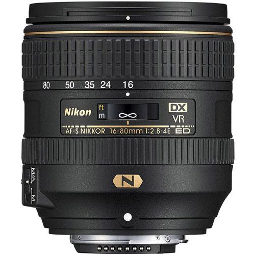 AF-S DX NIKKOR 16-80mm f/2.8-4.0 E ED VR Lens