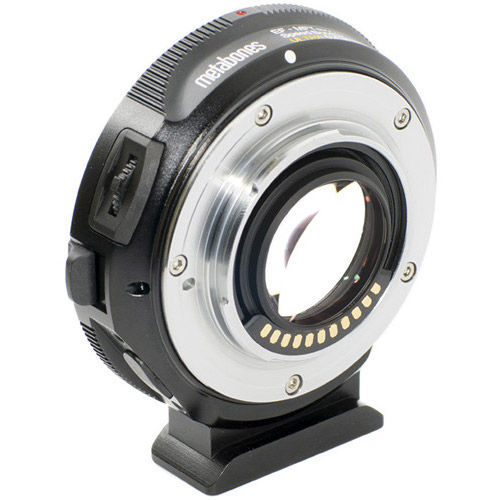 Canon EF to Micro 4/3 T Speed Booster ULTRA 0.71x (Black Matt)