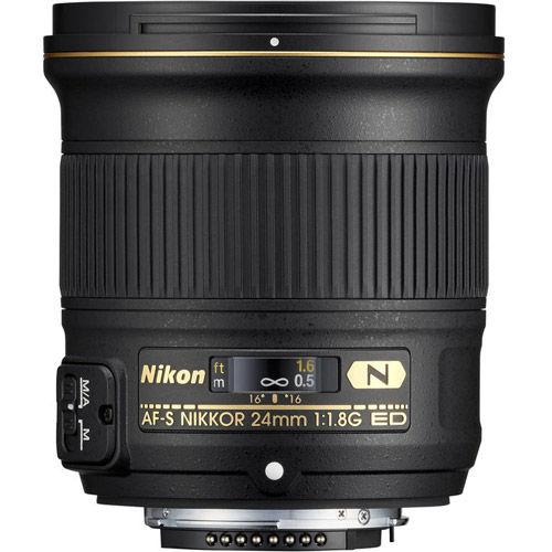 AF-S NIKKOR 24mm f/1.8 G ED Lens