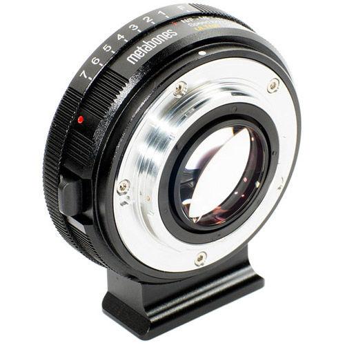Nikon G to Micro FouthThird Speed Booster Ultra 0.71x (Black Matt)
