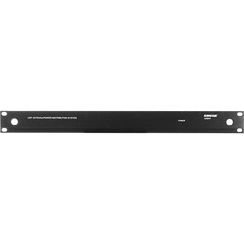 Wideband UHF 4-way Active Antenna and Power Distribution System for Receivers