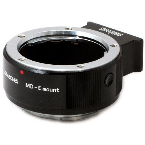 Minolta MD to E-mount T Adapter (Black Matt)