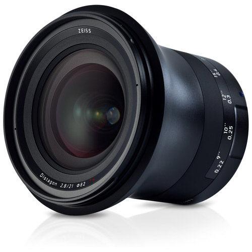Milvus 21mm f/2.8 ZE Lens