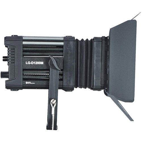 LG-D1200M LED Fresnel Light 5600K with WiFi/DMX and Case