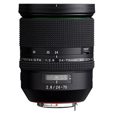 HD Pentax-D FA 24-70mm f/2.8 ED SDM WR Lens