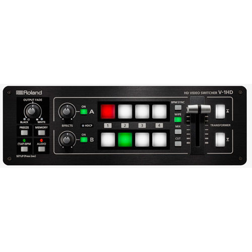 V-1HD Compact Portable 4-Channel Video Switcher