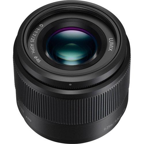 Lumix G 25mm f/1.7 ASPH Lens