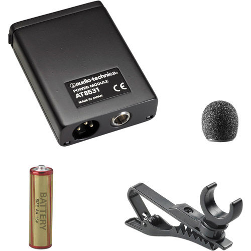 AT803 - Mini Clip-On Condenser Mic