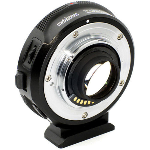 Canon EF Lens to Blackmagic 2.5k Cinema Camera T Speed Booster (Micro 4/3 Mount)