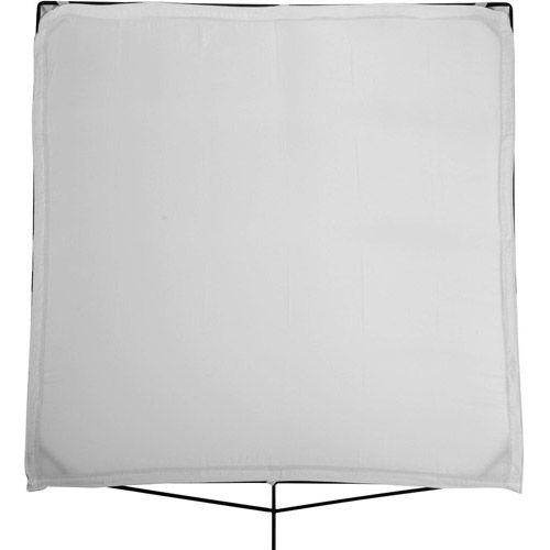 8' x 8' Artificial Silk, White