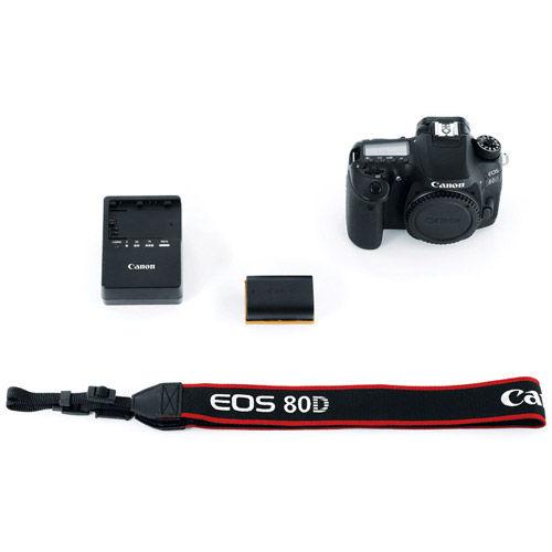 EOS 80D Body Shutter count:26709