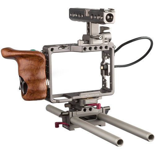 ES-T17-A Handheld Camera Cage Rig for Sony a7, a7 II, a7S, a7S II, a7R, & a7R II