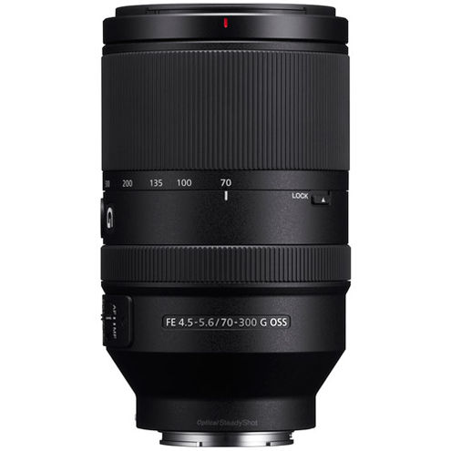 SEL FE 70-300mm f/4.5-5.6 G OSS E-Mount Lens