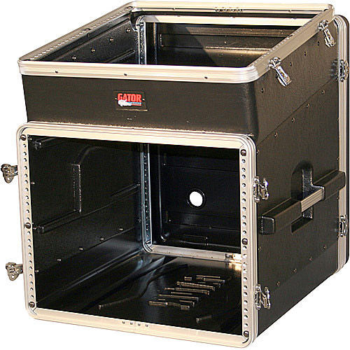 GRC-10x8 Slant Top Console Rack Case