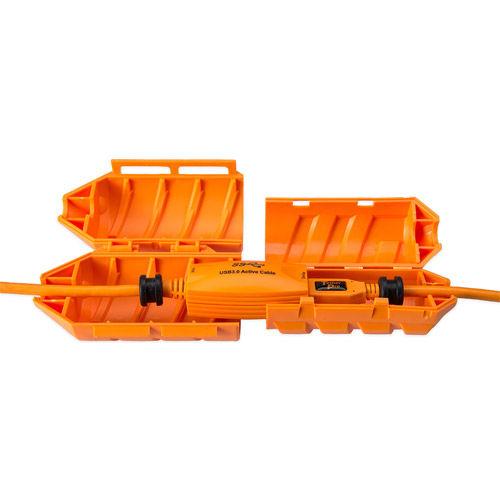 JerkStopper Extension Lock - Hi Visibiliy Orange