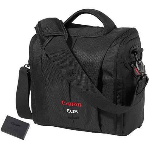 EOS Rebel Acc Kit for T6S, T6I, T7i, 77D Includes LP-E17, DSLR Bag